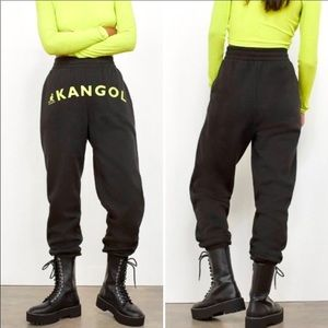 Kangol x H&M Jogger Sweatpants Size Medium NWT